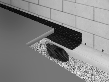 drain eze is the only foundation waterproofing product that ensures